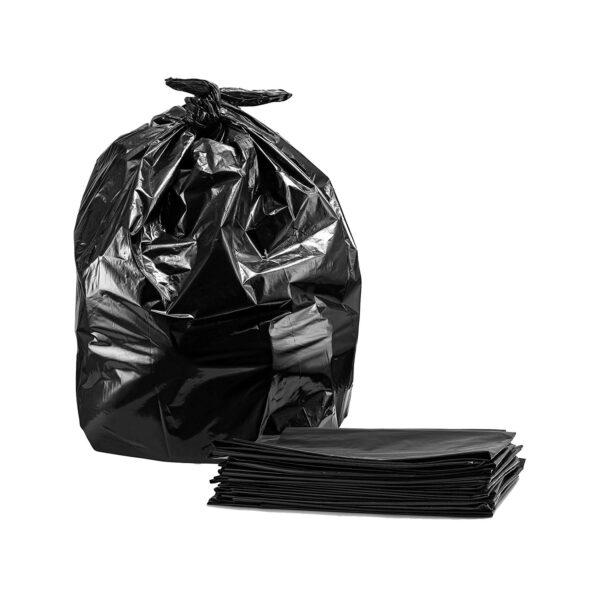 garbage bag black