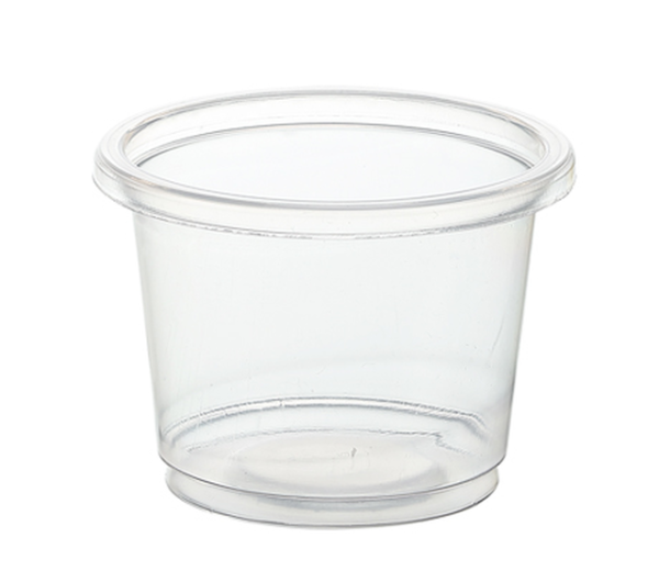 portion cup clear 1oz