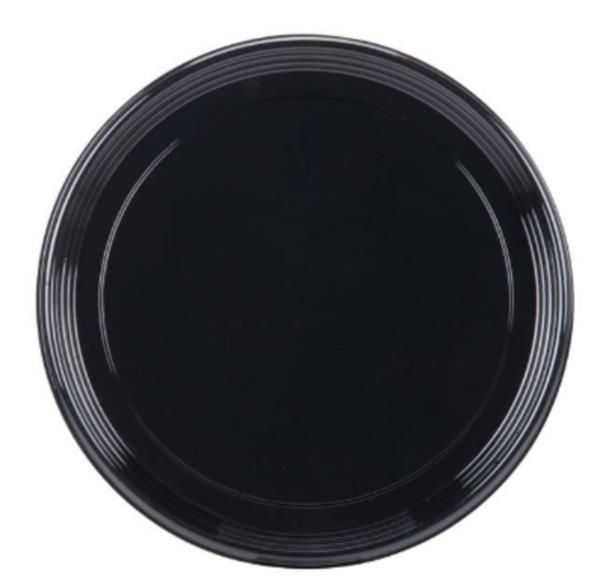 black platter