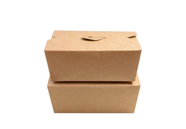kraft container