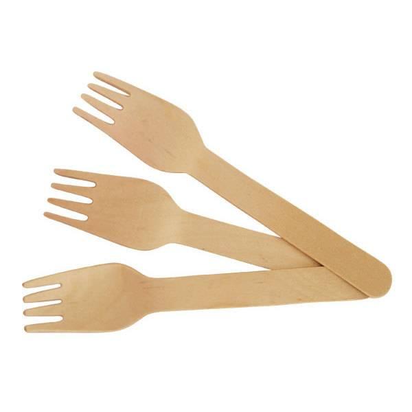 wooden fork